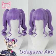 [anihut】udagawa aka wig game bang dream! Парик для косплея из