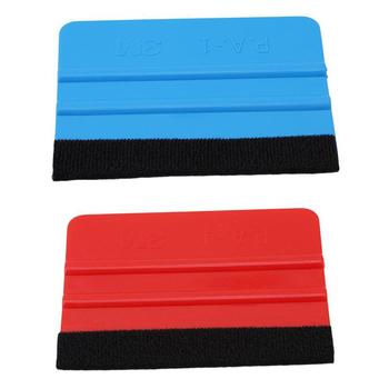 80% HOT SALES!!! Soft Felt Edge Squeegee Board for Car Vinyl Application Wrap Tool Scraper Decal image