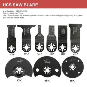 Image 5 - NEWONE многоосциллирующие лезвия пилы Combo HCS/Япония зуб/биметаллический Электрический Реноватор лезвия пилы аксессуары для деревообработки