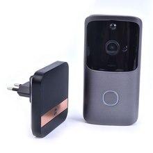 Wireless WiFi Video Doorbell Smart Door Intercom Security 720P Camera Bell