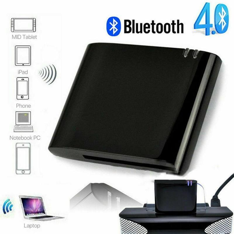 Audio empfänger für iPad iPod iPhone Apple lautsprecher <font><b>30</b></font> <font><b>Pin</b></font> Mini Bluetooth 4,1 + EDR Receiver A2DP & AVRCP Musik klasse <font><b>Dock</b></font> Connector image