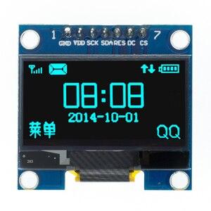 "Image 4 - 10pcs 1.3 inch OLED module white/blue  SPI/IIC I2C Communicate color 128X64 1.3 inch OLED LCD LED Display Module 1.3""OLED module"