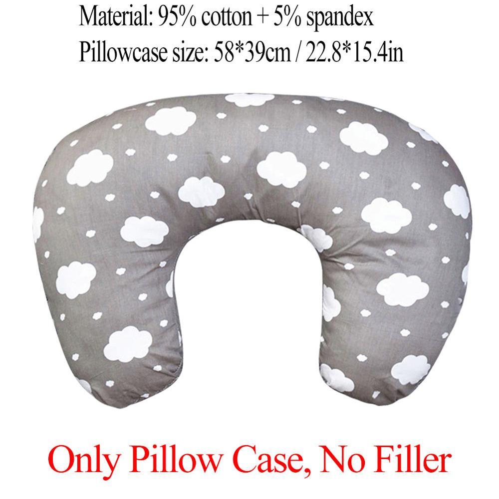 Подушки для беременных, кормящих грудью, кормящих детей, u-образная Подушка для сна для младенцев, кормящих грудью, маленький диван для беременных, поясная подушка - Цвет: B02