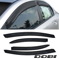 4pc Sun/Rain Guard Vent Shade Window Visors For 06 11 Honda Civic 4 Door Sedan