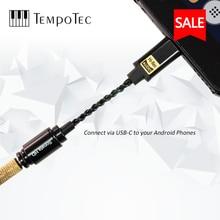 Tempotec Sonata Hd Type C Naar 3.5Mm Hoofdtelefoon Versterker Adapter Dac Voor Android Telefoon Pc Mac