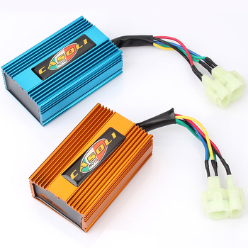 6Pin AC Ignition CDI Box For GY6 50-250CC ATV Dirt Bike Go Kart Scooter Moped goofit cf250 ch250 cn250 carburetor for gy6 250cc atv quad moped go kart n090 235