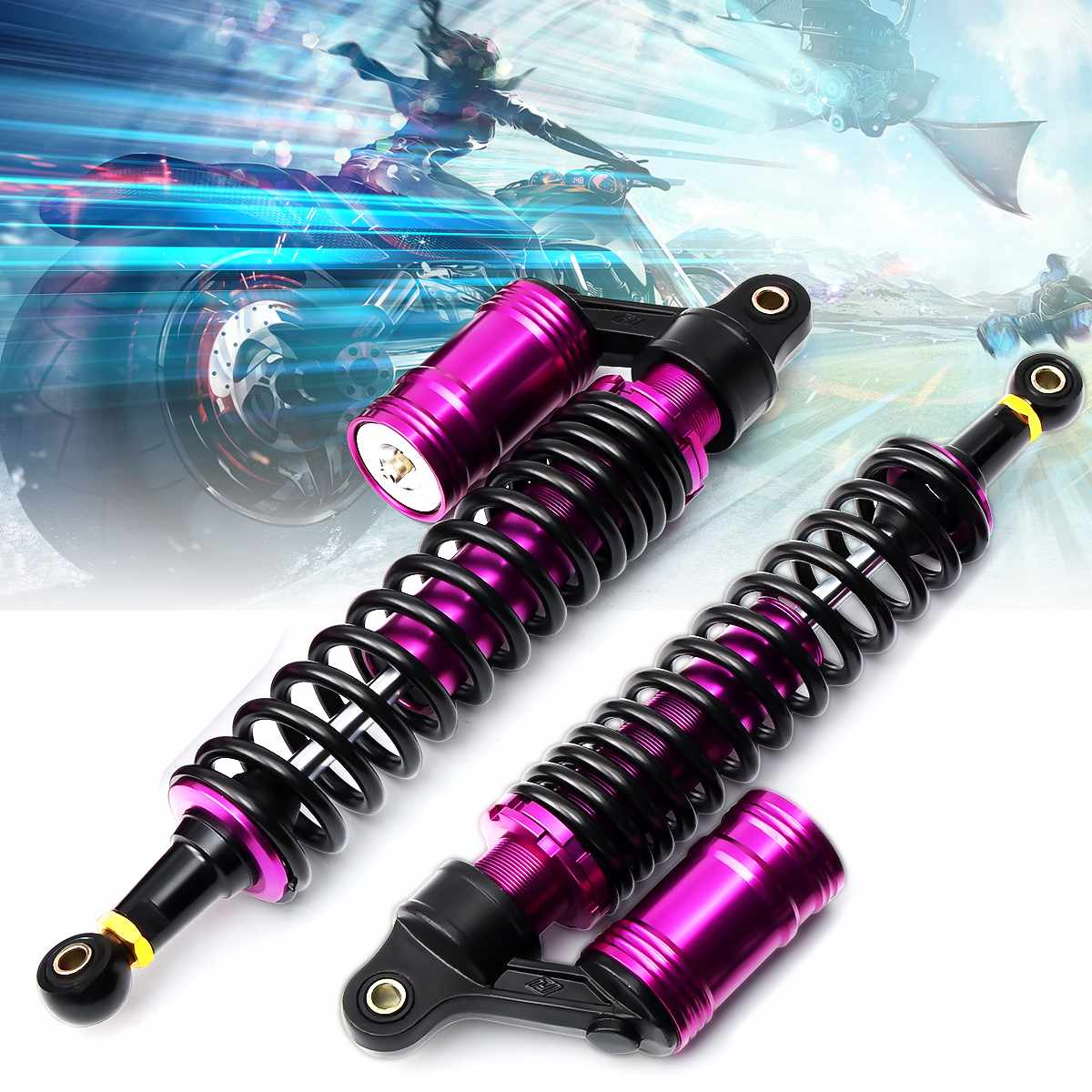 320mm Motorcycle Rear Shock Absorber Air Suspension For Yamaha YFZ 450 Ducati