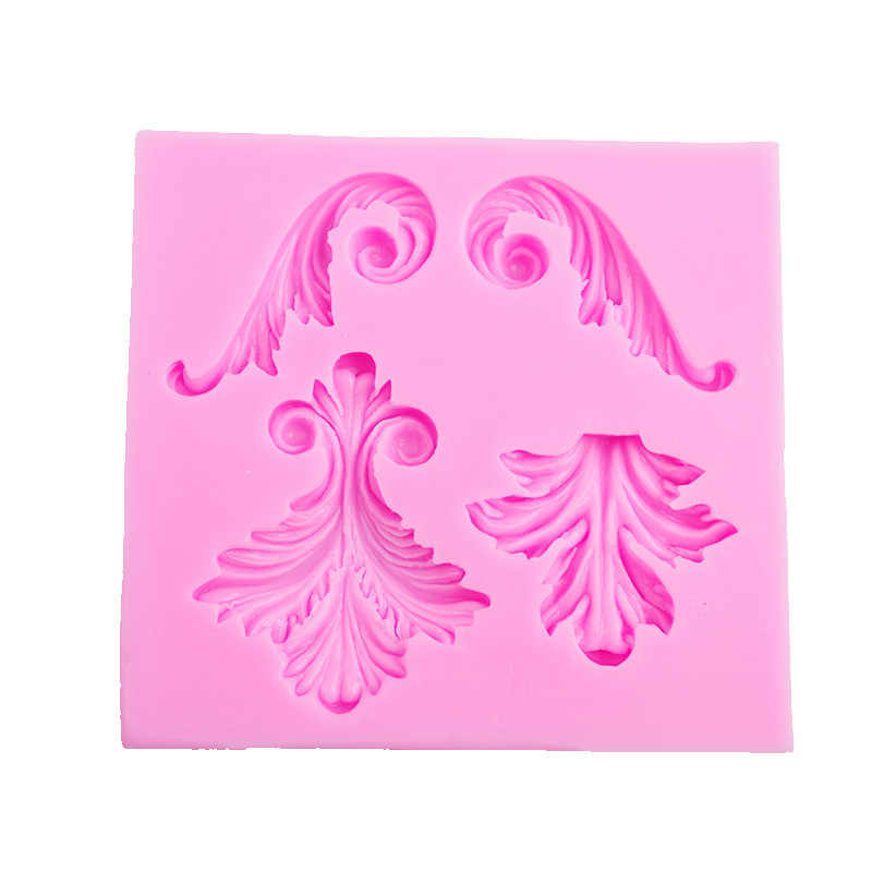 רטרו סיליקון תבניות 3d קיר פנל עובש עיצוב DIY בטון רטרו סימטרי אירופאי תבנית יצק חימר עובש