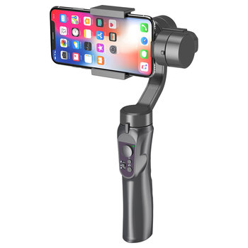 Mobile Phone Holder Stand Tripod for Phone 3 Axis Handheld Gimbal Smartphone Stabilizer USB Charging Video Record Vlog Live 1