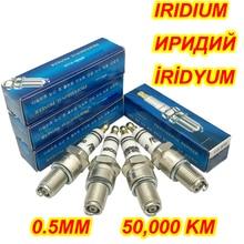 2 stücke Iridium Zündkerze EIX BR8 für TP406C AGR901X BR8EIX B8EIX IW24 IW22 W24ESRZU BPR8EIX BPR7ES BPR7EIX BR7EIX BPR7EVX