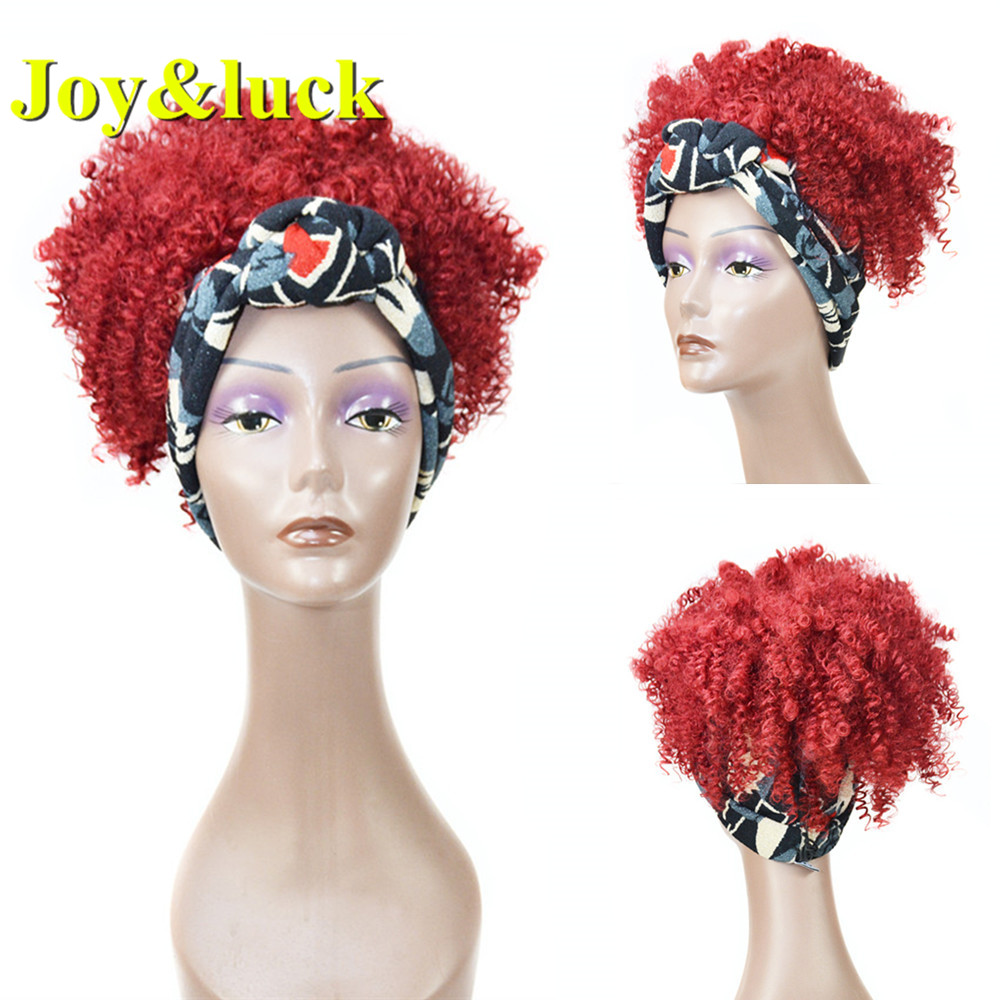 Alegria & sorte peruca turbante africano wrp