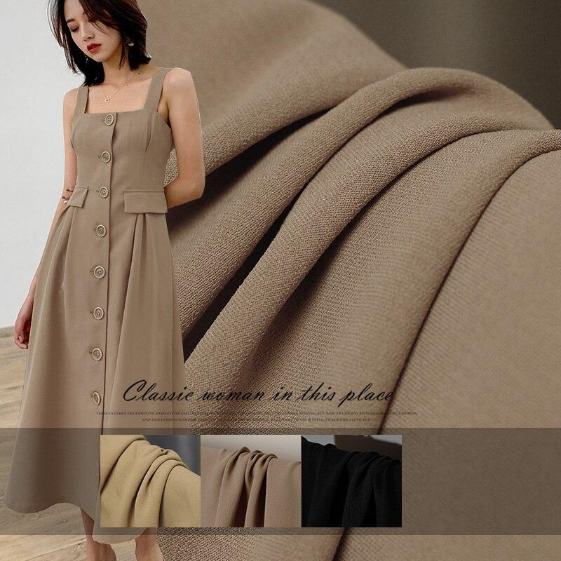 Le tissu Double pont crêpe de Chine 100% coton vêtement matériaux été chemise robe bricolage vêtements tissus livraison gratuite