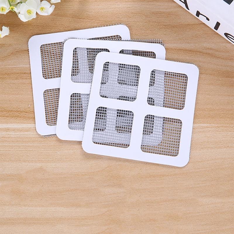 3pcs Adhesive Anti Mosquito Fix Net Fly Bug Insect Repair Screen Wall Patch Stickers Mesh Window Door Screen Window Home