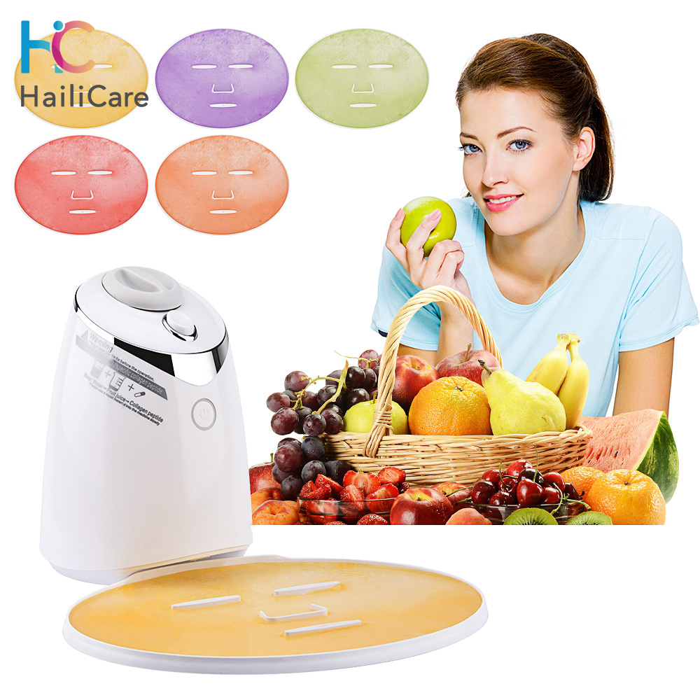 Organic Fruit Vegetable Facial Mask Maker Face Fruit Mask Machine Face Skin Care Tool DIY Automatic Natural Beauty Body Care