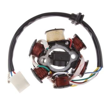 1 Uds 29mm Centro agujero estator bobina Magneto 6 Polo para 4 tiempos 110cc 125cc motores PIT Quad Dirt Bike ATV Buggy Etc