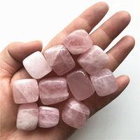 10-30 мм натуральный розовый кварц Кристальный куб камень рок чипы образцы целебный Природный Кварц кристаллы 100 г