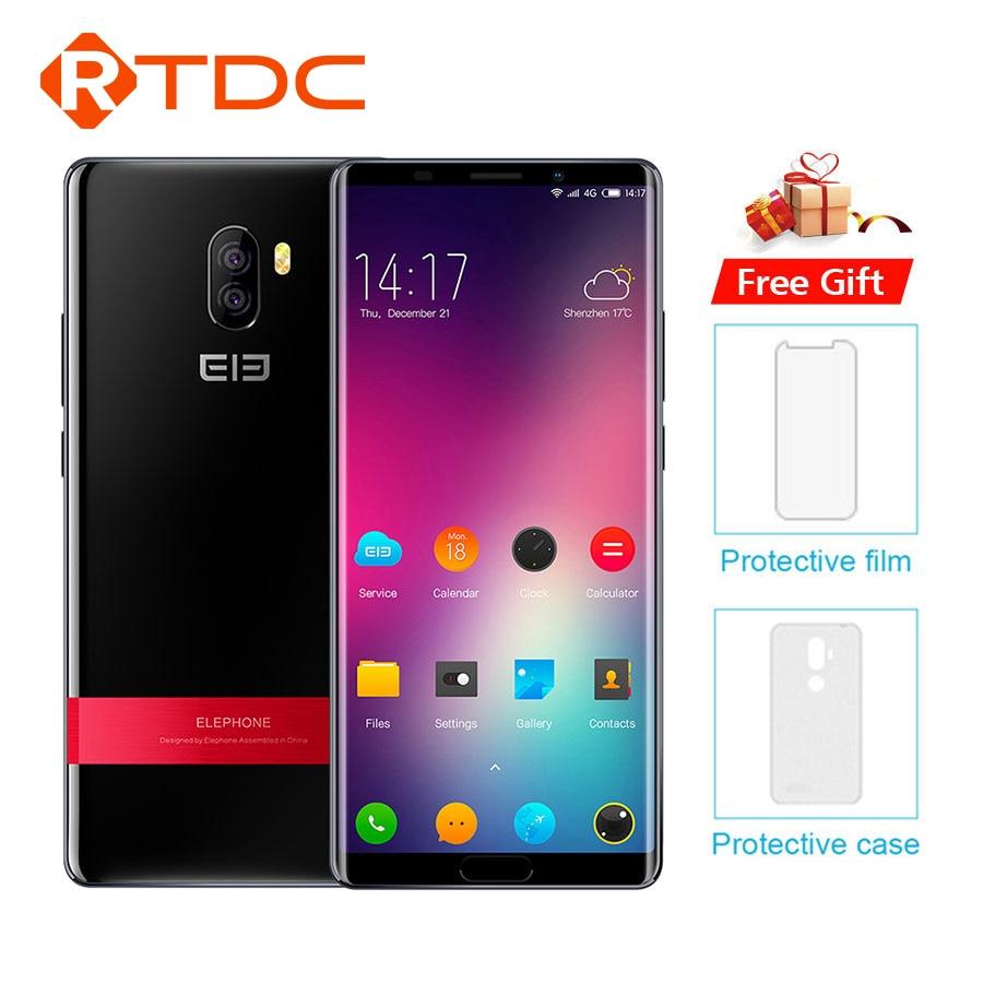 Elephone P11 3D MT6797T Deca Core Smartphone FHD+ 6.0'' Android 8.0 4GB RAM 64GB ROM 16MP 3200mAh FingerprintOTG 4G Mobile Phone