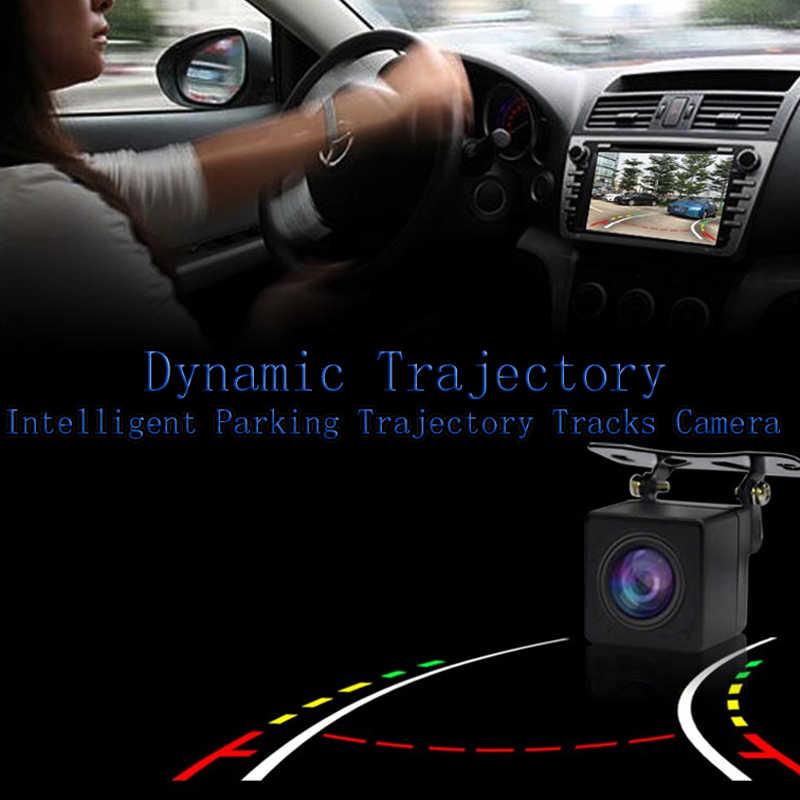 BigBigRoad עבור יונדאי I30 הסונטה אקסנט Solaris ורנה 2014 רכב HD אחורית חניה מצלמה גיבוי אוטומטי צג עמיד למים