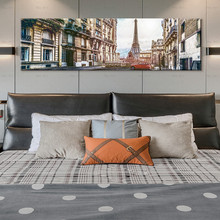 Painting Wall pictures city street scenery poster landscape art prints tower canvas