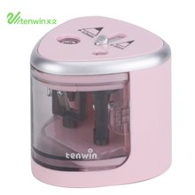 Automatic Electric Pencil Sharpener Time-Saving  School Stationery Supplies Desk Table Pencil Sharpener Office Accessories