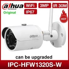 DaHua IPC HFW1320S W 3MP Mini Bullet IP cámara día/noche infrarroja CCTV soporte IP67 sistema de cámaras de seguridad impermeable