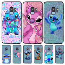 Stitch cartoon For Samsung Galaxy S6 S7 Edge S8 S9 S10 Plus Lite Note 8 9 10 A30 A40 A50 A60 A70 M10 M20 phone Case Cover etui karl lagerfeld for samsung galaxy s6 s7 edge s8 s9 s10 plus lite note 8 9 10 a30 a40 a50 a60 a70 m10 m20 phone case cover etui