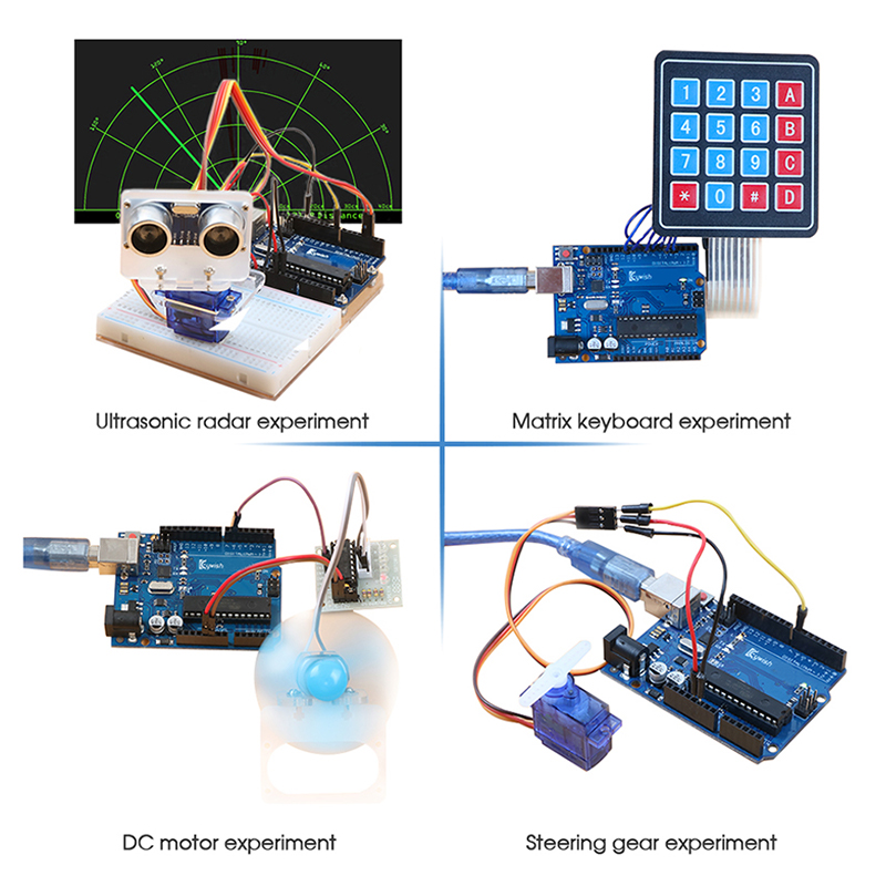 Arduino Starter Kit With 30 Courses LCD Tutorial For Arduino UNO R3 3