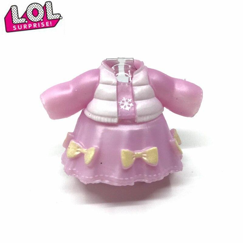 Л. О. Л. Сюрприз! 1 шт. Оригинальная одежда костюмы для мальчиков LOL платья для кукол детские игрушки подарок на день рождения 2020 Новинка