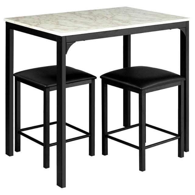 3 PCS Counter Height Dining Set  3