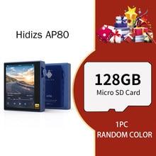 MP3 jugadores Hidizs AP80 Hi-Res Bluetooth de música de alta fidelidad ES9218P tecnología LDAC USB DAC DSD 64/128 FM Radio HibyLink FLAC DAP