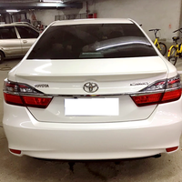 new camry 2012 to 2017 Reduce resistance spoiler High hardness and quality ABS rear trunk wing spoiler by primer paint or DIY|Spoilers & Wings| |  -