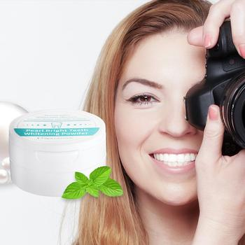 Mishiu Teeth Whitening Dentistry Tooth Powder Mint Extract Tooth Whitening Oral Hygiene Removes Tooth Dirt 50g фото