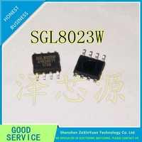 30 unids/lote SGL8023W SGL8023 SOP-8 solo canal DC LED CHIP táctil de CONTROL de luz nuevo ORIGINAL