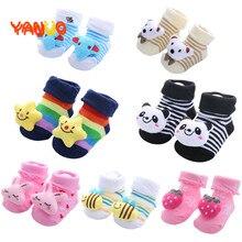 Socks Spring Floor Animal Newborn Gift Anti-Slip Toddlers Infant Girl Baby-Boy Kids Cotton