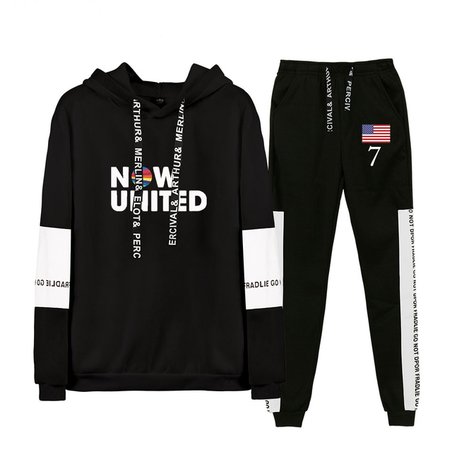 SET NOW UNITED HOODIE + TROUSERS (4 VARIAN)