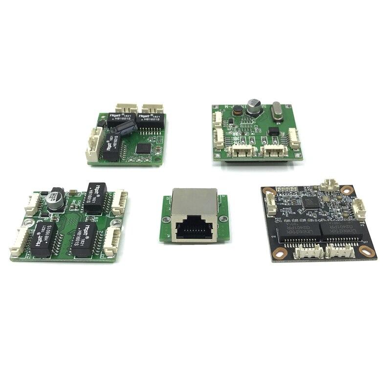 Mini PBCswitch Module PBC OEM Module Mini Size 3/4/5 Ports Network Switches Pcb Board Mini Ethernet Switch Module 10/100Mbps
