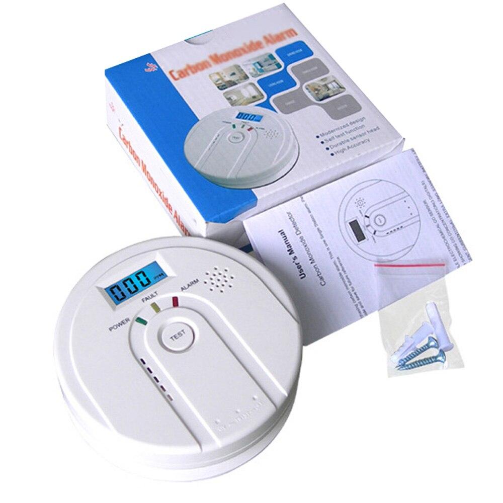 Indoor Carbon Monoxide Alarm Household LCD CO Gas Sensor Warning Tester