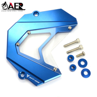 JAER For Yamaha MT09 FZ9 2013 2018 Front Sprocket Chain Guard Cover Left Side Engine cover protector