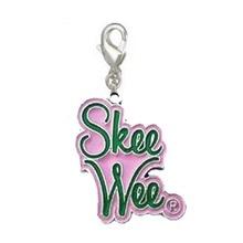Большой размер греческий женский символ Альфа ка Альфа AKA sounds SkeeWee розовый и зеленый подвески