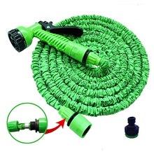Hoses-Pipe Garden-Hose Plastic Spray-Gun Expandable Watering-Car Magic Flexible 25FT-250FT
