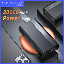 цена на Dual USB 20000mAh Quick Charge Power Bank 22.5W 20000 mAh Powerbank For Vivo /PD QC3.0 Quick Charge Power Bank For Mobile Phone