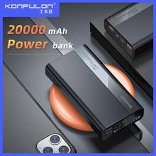 Dual USB 20000mAh Quick Charge Power Bank 22.5W 20000 mAh Po