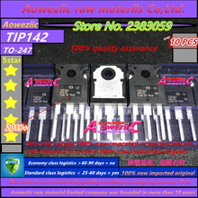Aoweziic 2019 + 100% novo importado original tip142 tip147 para 247 darlington tubo 15a 100 v