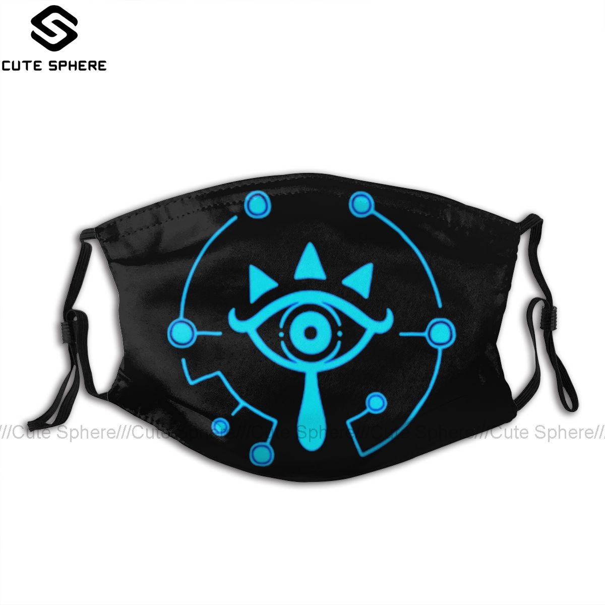 Zelda Breath Of The Wild Mouth Face Mask Wolfenstein Facial Mask Kawai Cool With 2 Filters For Adult