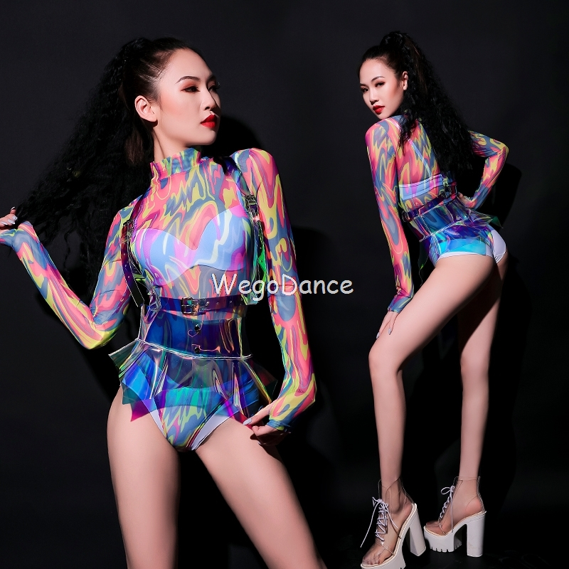Gogo Costumes Sexy Female Dance Team Bar Lead Dancer Clothing Nightclub Clothing Dj Ds Costumes New