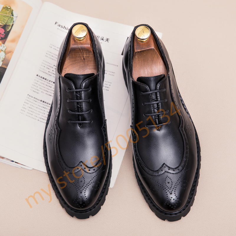 Mens Shoes Casual Luxury Black Driving Lace Up Oxford Men's Fashion Walking Sneakers Business Men Shoes Leather Formal