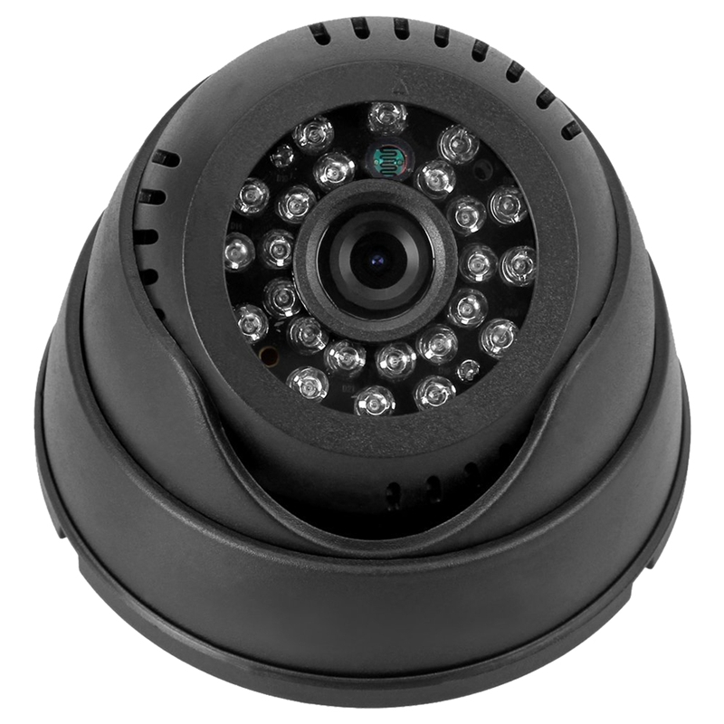 Dome Recording Camera Dome Indoor CCTV Security Camera Micro-SD/TF Card Night Vision DVR Recorder