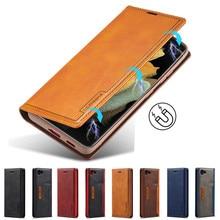 جراب جلدي لهاتف iPhone 8 ، محفظة بغطاء بطاقة مغناطيسية ، حافظة لهاتف Apple iPhone 8 Plus