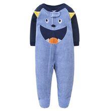 Детские комбинезоны для новорожденных зимняя одежда маленьких