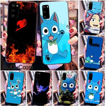 Riccu Happy Felice Fairy Tail Phone Case for Samsung S20 plus Ultra S6 S7 edge S8 S9 plus S10 5G image